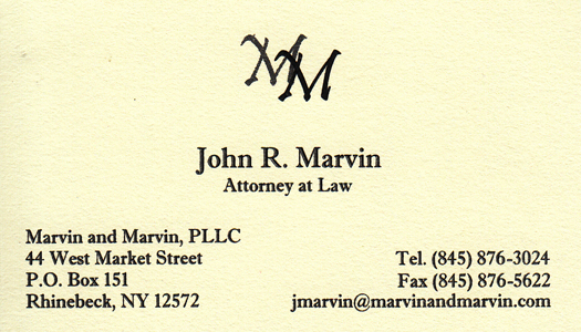 Business Member: Marvin & Marvin